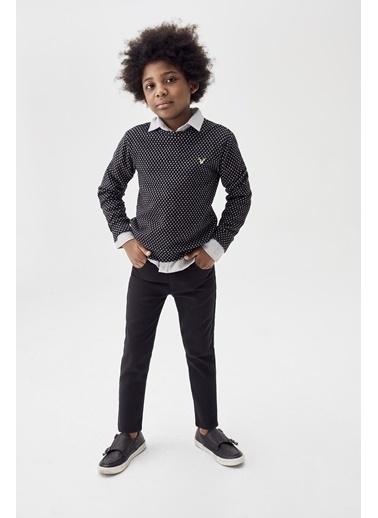 Nebbati Erkek Çocuk Siyah Pantolon 20Fw0Nb3232 Siyah
